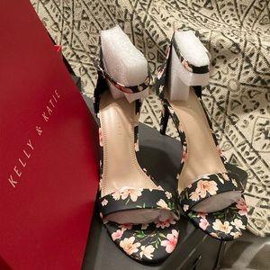Kelly & Katie Navy Blue Sandal for Women,